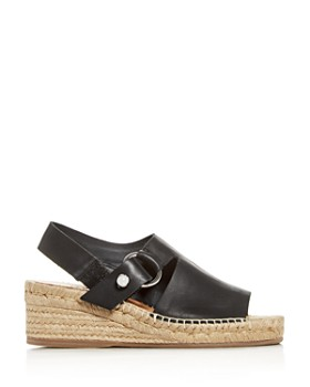 rag & bone - Women's Arc Slingback Platform Wedge Espadrille Sandals