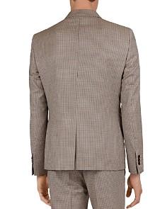 The Kooples - Purple Houndstooth Regular Fit Blazer