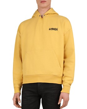 The Kooples - Printed Cotton Fleece Hoodie