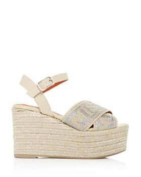 Castañer - x Missoni Women's Engie Platform Wedge Espadrille Sandals