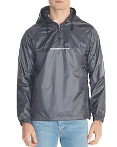 Sandro - Logo Ripstop Rain Jacket