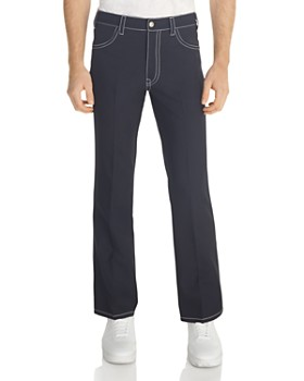Sandro - Sandro Topstitched Regular Fit Pants - 100% Exclusive