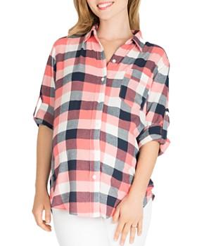 Nom Maternity - Sadie Printed Cotton Shirt