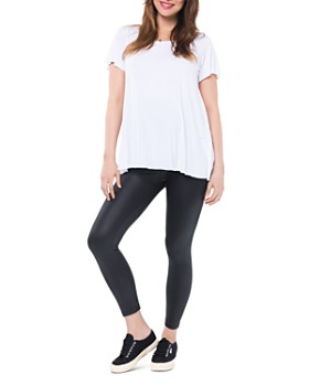 Nom Maternity - Date Night Coated Maternity Leggings