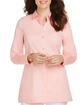 Foxcroft - Harlow Non-Iron Cotton Tunic Shirt