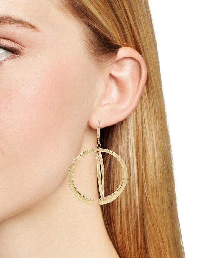 1872105b9 Robert Lee Morris Soho Geometric Layered Orbital Earrings ...