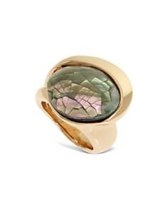 Robert Lee Morris Soho - Mosaic Stone Sculptural Ring