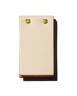 Graphic Image - Gold Post Flip Notepad
