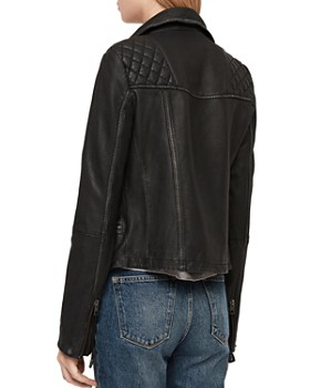 c682a302642 All Saints Leather Jacket - Bloomingdale's