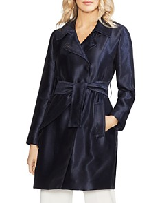 VINCE CAMUTO - Satin Trench Coat