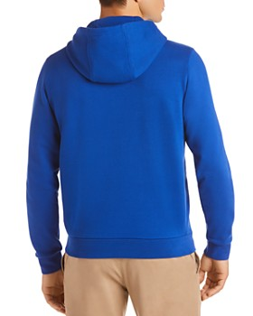 Lacoste - Stacked Logo Graphic Hooded French Terry Sweatshirt
