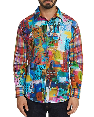 Robert Graham Limited Edition Patchwork Classic Fit Shirt