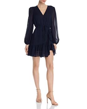 94506b21bcf67 AQUA - Drawstring Faux-Wrap Dress - 100% Exclusive ...
