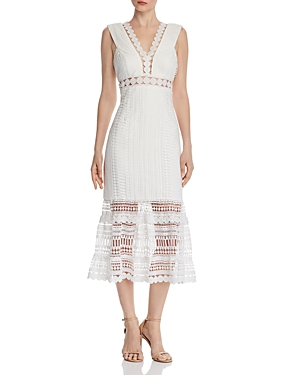 Bardot Dresses PETRA LACE MIDI DRESS