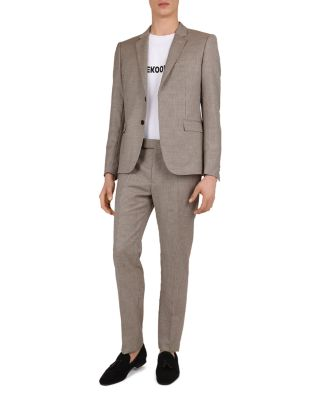 Houndstooth Slim Fit Trousers