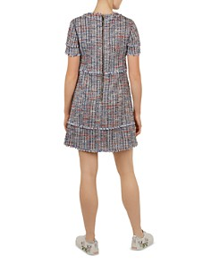 Ted Baker - Yulited Bouclé Tunic Dress