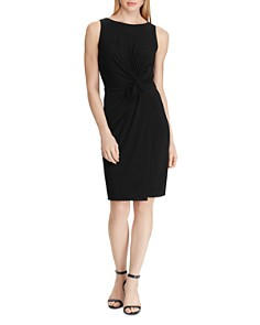 Ralph Lauren - Petites Ruched Jersey Dress