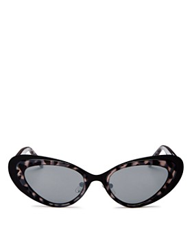 6dde29625b Kendall + Kylie - Women s Mirrored Cat Eye Sunglasses