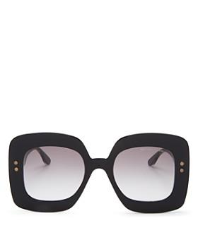 Bottega Veneta - Women's Oversized Square Sunglasses, 50mm
