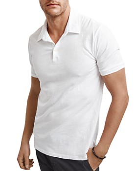 Velvet by Graham & Spencer - Randall Slub-Knit Polo Shirt