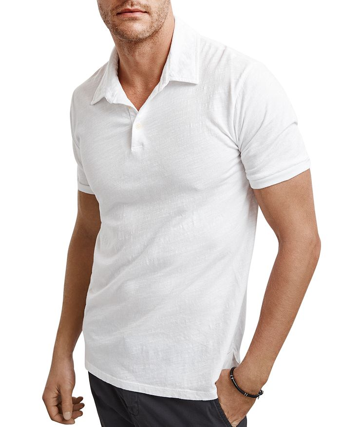Velvet by Graham & Spencer - Randall Slub-Knit Polo Shirt