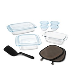 OXO - 16-Piece Glass Bakeware & Bowl Set