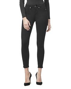 Good American - Good Legs Crop Skinny Jeans in Black001
