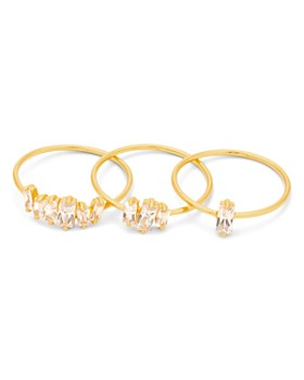 Gorjana - Amara Stackable Rings, Set of 3