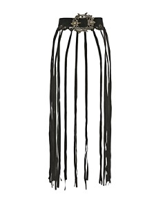 The Kooples - Women's Fringed Suede Belt