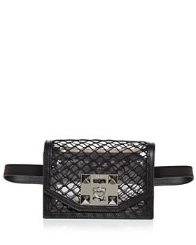 Salar - Sylvie Net Convertible Belt Bag