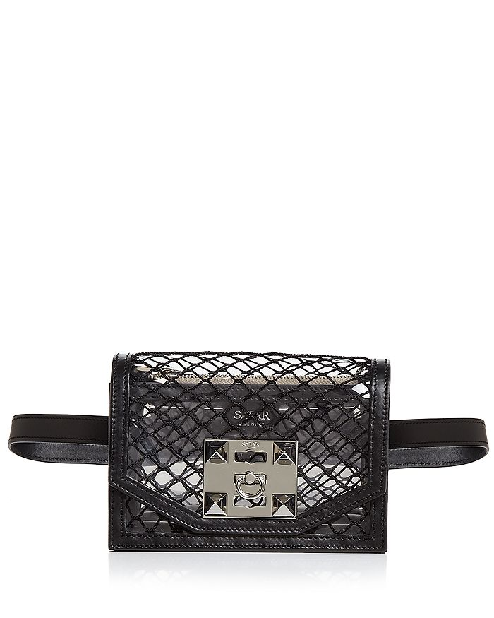 Salar - Sylvie Net Convertible Belt Bag