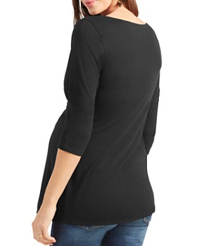 Ingrid & Isabel - Maternity Draped Knit Top