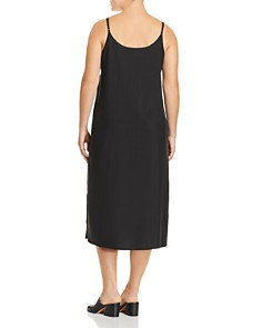 Eileen Fisher Plus - Midi Slip Dress