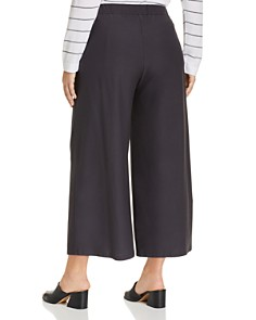 Eileen Fisher Plus - Wide-Leg Ankle Pants