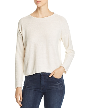 Eileen Fisher Sweaters ROLLED ROUND-NECK SWEATER