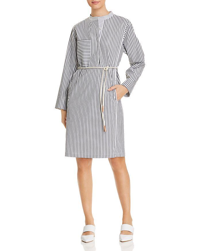 Lafayette 148 New York - Rexana Striped Shirt Dress