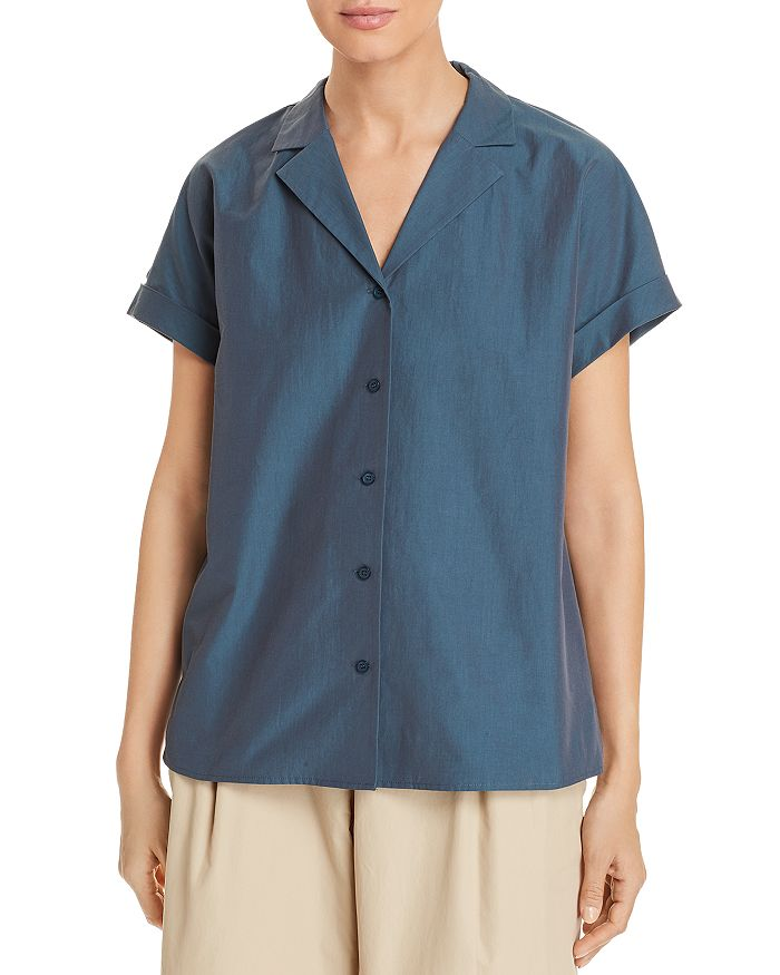 Lafayette 148 New York - Beatrice Button-Front Blouse
