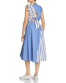 SJYP - Mixed-Stripe Midi Dress