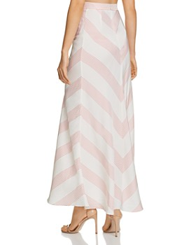 Paper London - Islamorada Gingham Maxi Skirt
