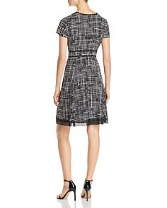 KARL LAGERFELD Paris - Printed Lace-Trim Dress