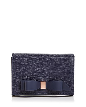 3927052d7 Ted Baker - Leonyy Mini Bow Leather Wallet ...