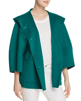 Weekend Max Mara - Falco Hooded Virgin Wool Jacket