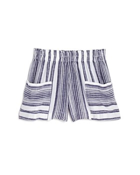Bella Dahl - Girls' Sun Striped Shorts - Little Kid, Big Kid