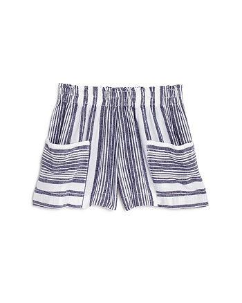 Bella Dahl - Girls' Sun Striped Shorts - Little Kid, Big Kid