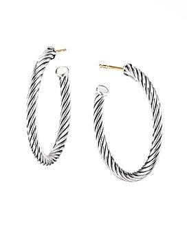 David Yurman - Cable Hoop Earrings