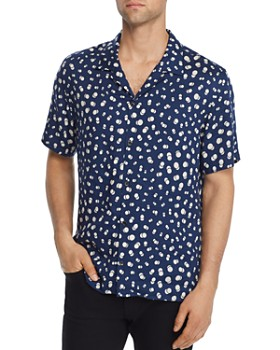 The Kooples - Graphic Bubbles Regular Fit Shirt - 100% Exclusive