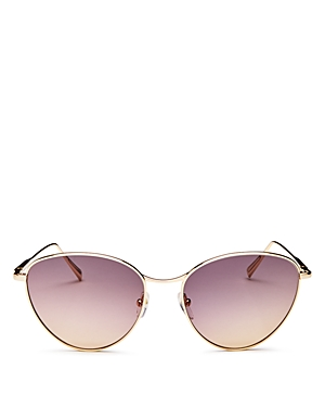 Longchamp Sunglasses WOMEN'S ROSEAU ROUND SUNGLASSES, 55MM