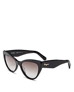 Salvatore Ferragamo - Women's Cat Eye Sunglasses, 56mm