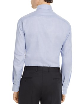 Armani - Patterned Modern Fit Dress Shirt