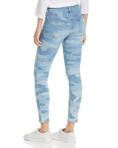 rag & bone/JEAN - Cate Ankle Skinny Jeans in Faded Camo